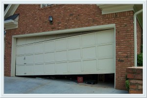 garage door off track Webster
